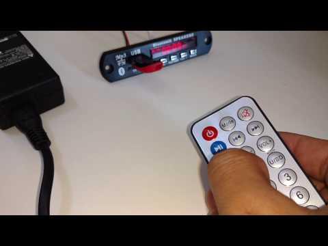 60w Bluetooth Leitor Mp3 Decoder Amplificador Caixa Ativa Com Borne