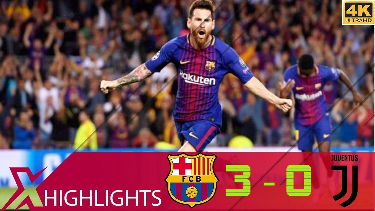 Barcelona vs Juventus 3-0 Extended Highlights & All Goals ...