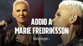È morta Marie Fredriksson, cantante dei Roxette: era malata di cancro