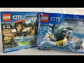 Lego Coast Guard Starter Set and Police Sea Plane
