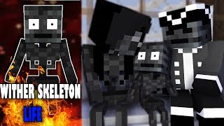 Monster School : Wither Skeleton Life - Best Minecraft Animation