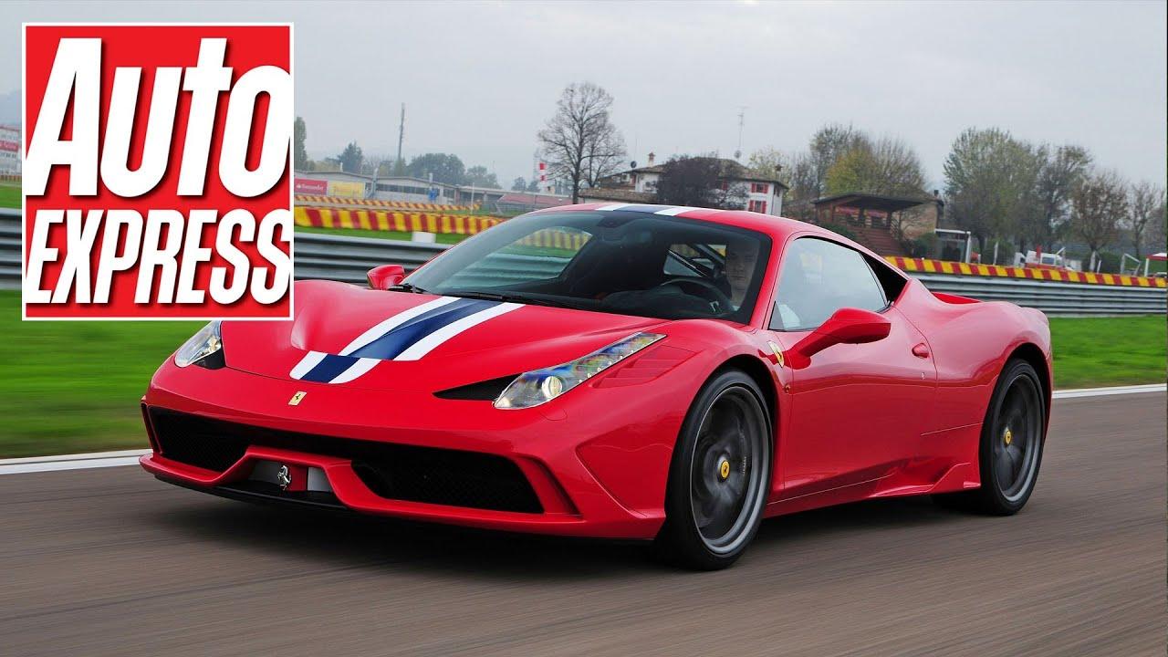 Ferrari 458 Speciale Review Auto Express Youtube