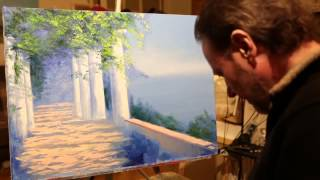 Новые видеоуроки Игоря Сахарова  Картина маслом на холсте