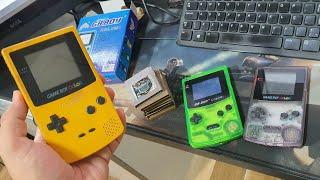 Game Boy Color e Colour! O Importado vale a Pena?