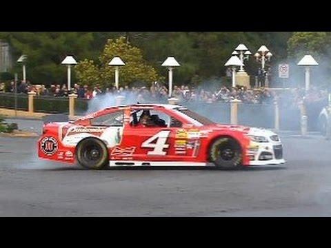 NASCAR Victory Lap parade in Las Vegas
