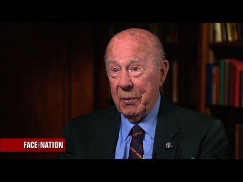 George Shultz on the Trump administration