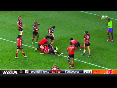 Super Rugby: Kings V Sunwolves (Round 6)
