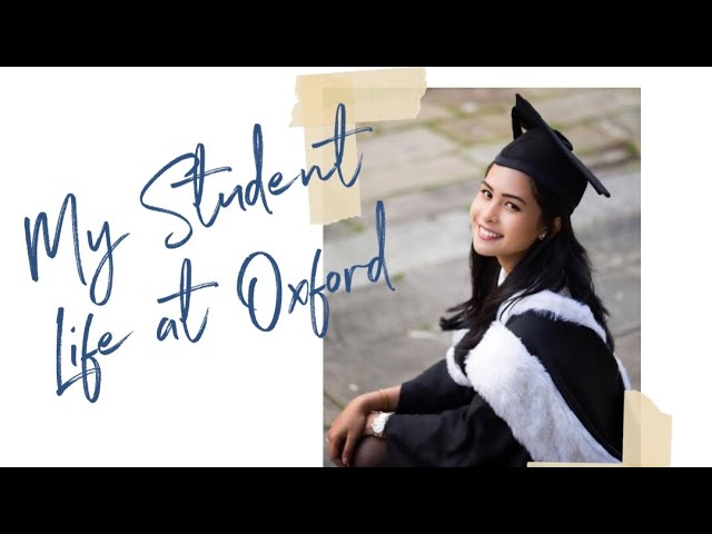 Can you tell me about student life at Oxford?