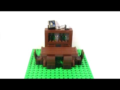 Tutorial Lego Dining Room Table And China Cabinet Youtube