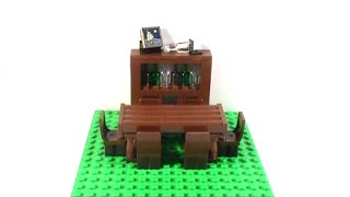 Tutorial-lego Dining Room Table And China Cabinet