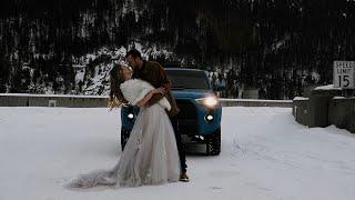 Kelsie + Hayden   Montana Winter Elopement   02.21.21
