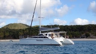 1999 Perry 43 sailing catamaran for sale