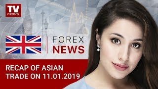 InstaForex tv news: 11.01.2019: USD slips on Fed cautious comments