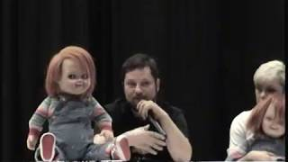 Child's Play Reunion Panel 2018 HorrorHound