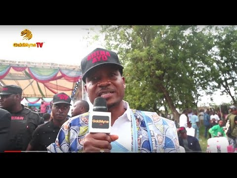 SMALL DOCTOR, JUNIOR BOY AT SHINA PELLER'S POLITICAL CAMPAIGN, FEDERAL HOUSE OF ASSEMBLY
