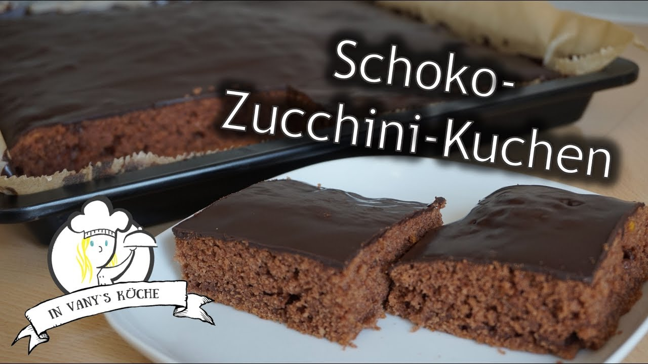 Thermomix Schoko Zucchini Kuchen Super Saftig Youtube