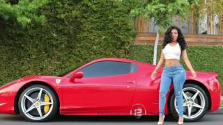 K Michelle CAR STOLEN Porsche from Hotel with newly ENGAGED Fiance Dentist  Kastam Sims!