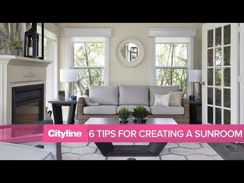 6 tips for creating a relaxing sunroom in your home