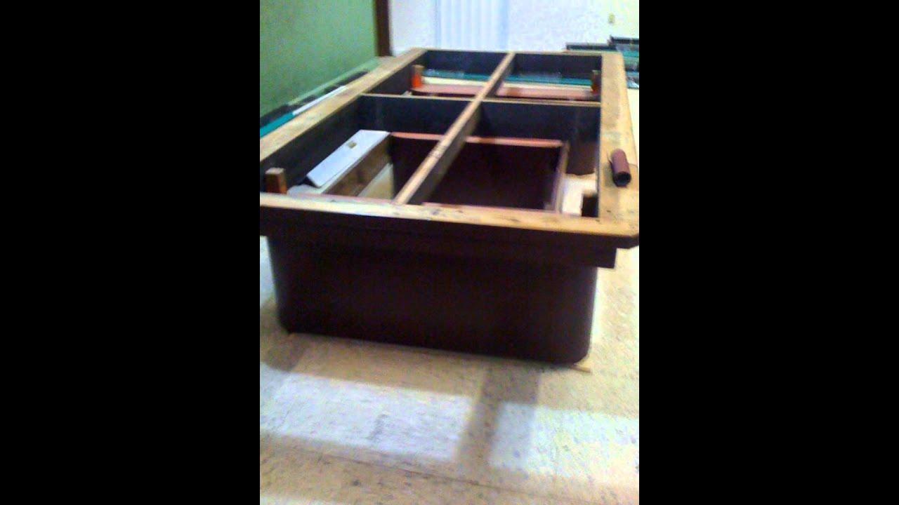 Mesas de billar diego en venta juego de 5 mesas youtube - Vendo mesa billar ...