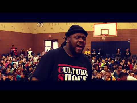 Culture Shock School Tour (Fontenelle Elementary School) Bicycle Giveaway