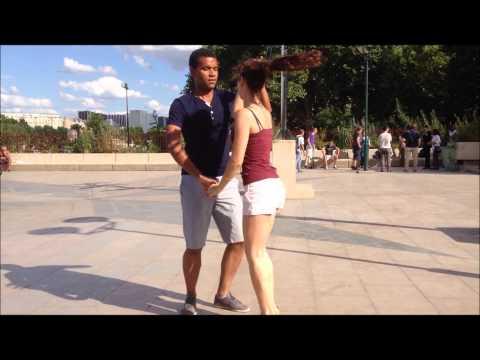 Silver & Anjali - Salsa portoricaine sur les quais de Seine