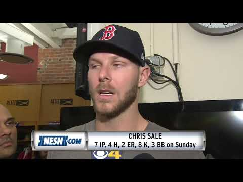 Chris Sale Reflects On Sunday's Outing Against Rays