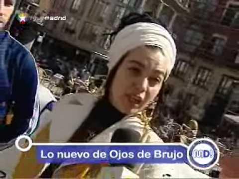 Ojos de Brujo presenta nuevo disco en Madrid