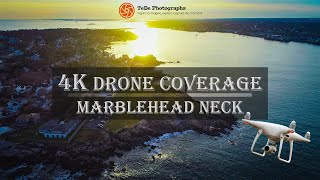 4K Drone Coverage | By the Sea at Marblehead Neck
