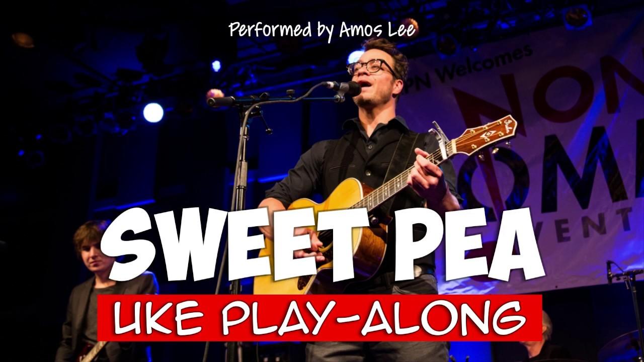 Sweet Pea ukulele play alongsimplified Key G
