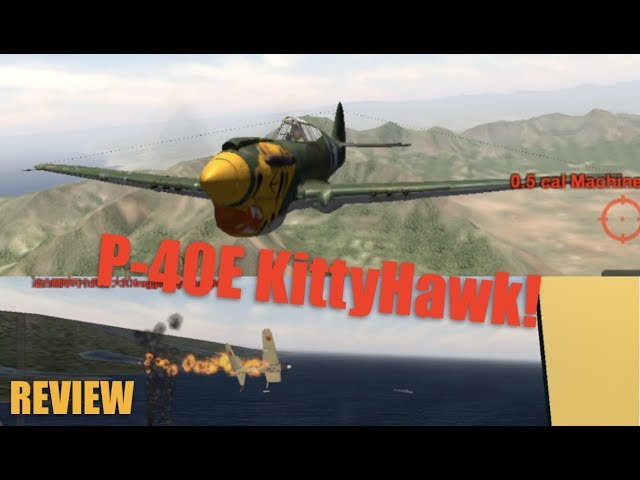 Wings of Duty P-40E Kitty Hawk Gameplay   REVIEW