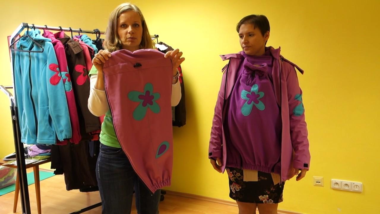 c69ef3eaaaca LadyBug - nosičské oblečenie - mikina a bunda na nosenie detí - YouTube