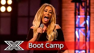 Can Faye Horne impress again? | Boot Camp | The X Factor UK 2016