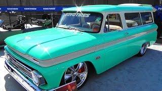 1966 Chevrolet Suburban Street Truck SEMA 2015