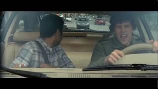 Уйти от Полицейской Погони ... отрывок из фильма (Успеть За 30 Минут/30 Minutes or Less)2011