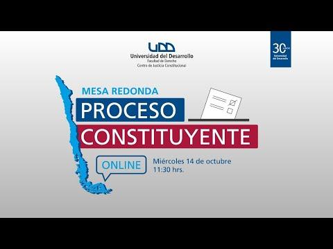Mesa Redonda: Proceso Constituyente