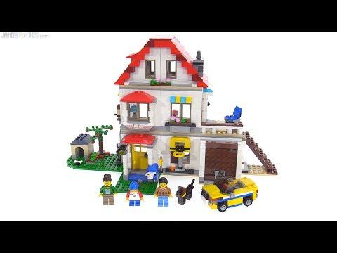 LEGO Creator Modular Family Villa 3-in-1 review 🏡 31069