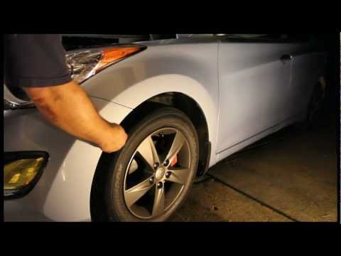 How to remove the bumper from a 2011+ Hyundai Elantra