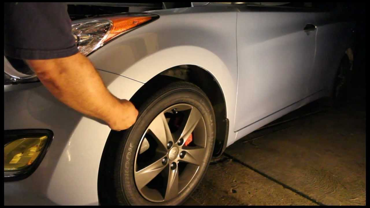 How To Remove The Bumper From A 2011 Hyundai Elantra