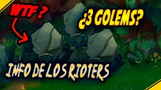 ¿3 GOLEMS? + info PLANTAS lugares JUNGLA | Noticias League Of Legends LoL