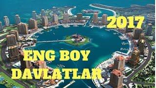 2017 YILNING ENG BOY DAVLATLARI