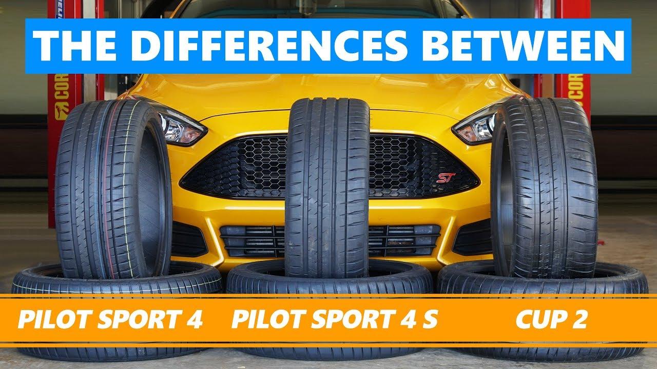 michelin pilot sport 4 vs pilot sport 4 s vs cup 2 the. Black Bedroom Furniture Sets. Home Design Ideas
