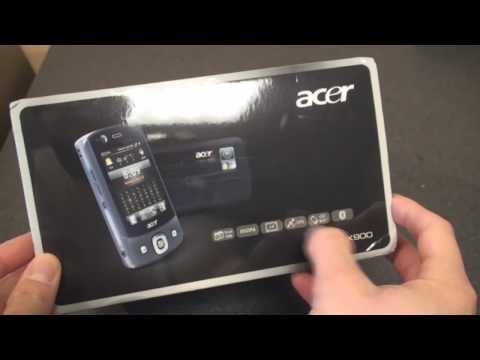 Dual SIM Acer DX900 Unboxing
