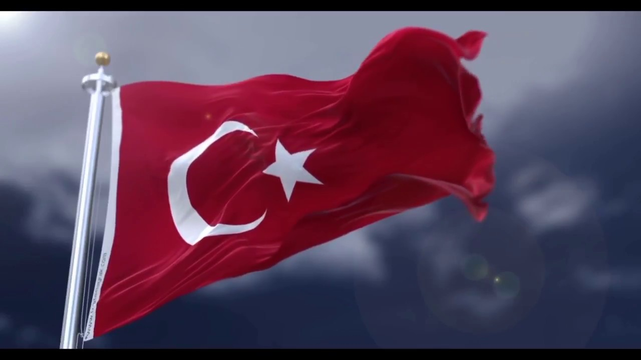 Dalgalanan Türk Bayrağı Hd Youtube