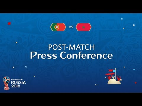 FIFA World Cup™ 2018: Portugal v. Morocco - Post-Match Press