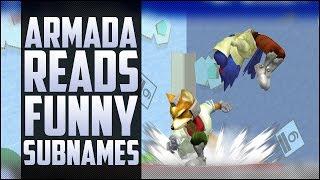 Mango vs Leffen while Armada reads funny subnames!