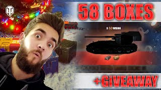 Unboxing 58 Loot Boxes in World of Tanks + Giveaway!