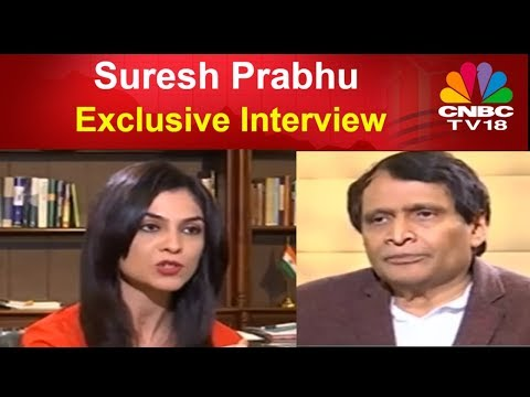 Suresh Prabhu | GST a Game Changer | Exclusive Interview | C