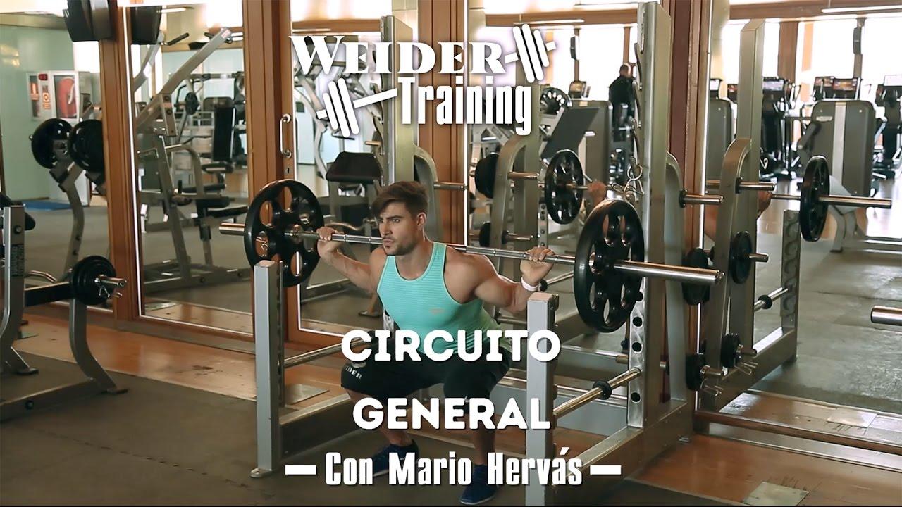 Circuito General : Circuito general con mario hervás weider training youtube