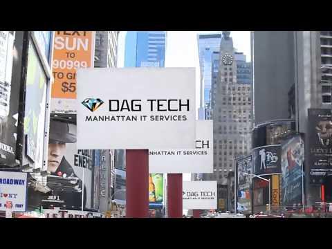 DAG Tech - Manhattan IT Services Times Square Advertisement