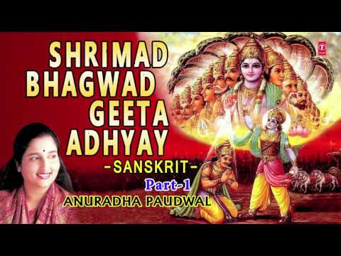 SHRIMAD BHAGWAD GEETA ADHYAY PART 1 BY ANURADHA PAUDWAL I AUDIO SONG I ART TRACK